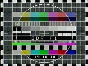 Testbild-DDR