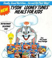 Tyson Looney Tunes Meals