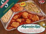Swanson Polynesian Style TV dinner