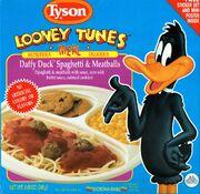 Daffy Duck Spaghetti & Meatballs