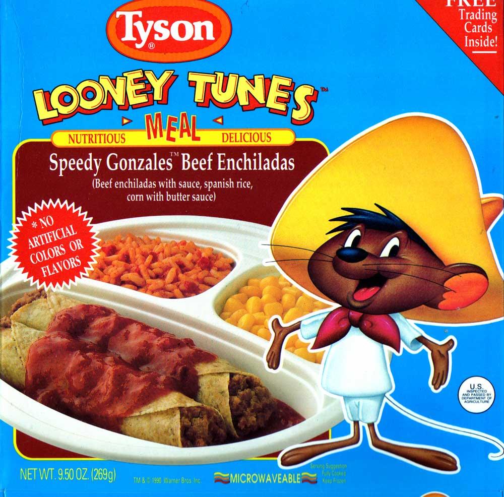 Speedy Gonzales Beef Enchiladas Tv Dinners Wiki Fandom