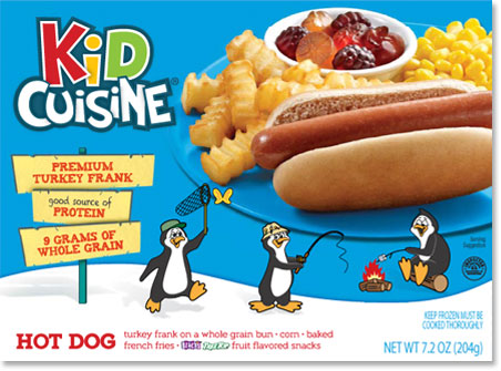 Kid Cuisine Hot Dog