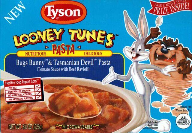 File:Bugs and Taz Pasta.jpg