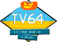 TV64 Halloween logo