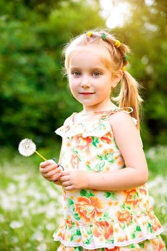 Image Little Girl Top Ponytail Reddish Blonde Jpg Tv