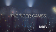 MOTV screen bug shown during The Tiger Games 1986