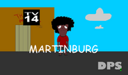 DPS bug shown during edited episodes of Martinburg