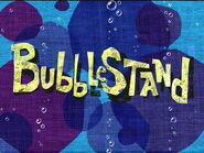 Bubblestand title