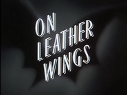 On Leather Wings-Title