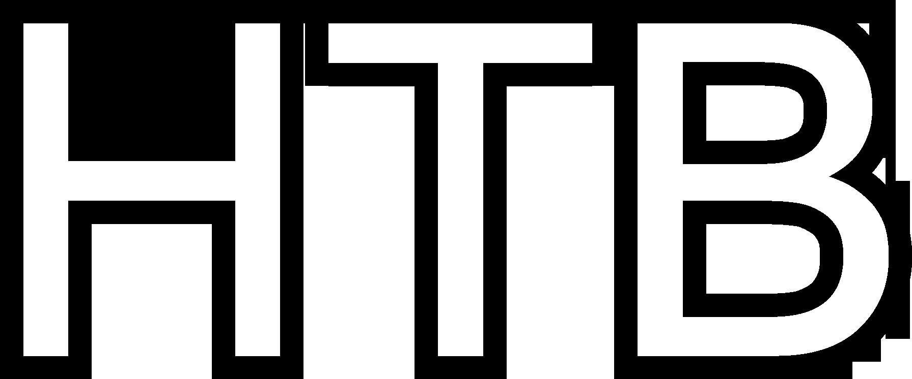 НТВ (1993, буквы с чёрным контуром)