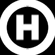 Новий канал (плоский логотип белого цвета)