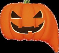 QTV (логотип на Хэллоуин)