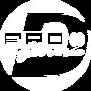 PRO Деньги (первый логотип, моно, белый)