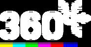 360 (7-ой логотип, новогодний, 2018 - 2019)