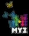Летний логотип МУЗ-ТВ (2014)