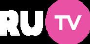 RU.TV 3 (розовый шар с белыми надписью TV, прозрачный)