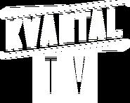 Квартал TV (плоский белый логотип)