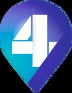 4 Канал (Украина) (2-ой логотип) (без фона)