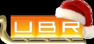 UBR (Украина, перый новогодний логотип)