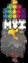 Логотип МУЗ-ТВ к Дню космонавтики (12.04.2014)