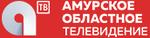 Амурское областное телевидение (2018, красный фон)