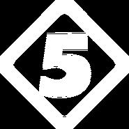 Пятый канал (1994-1998, белый)