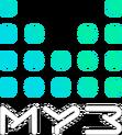 Муз-ТВ 12 (эфир, голубо-бирюзовый)