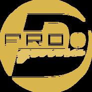 PRO Деньги (первый логотип, моно, бежёвый)