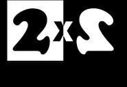 2х2 (1996-1997, с надписью Телеканал, использовался в Семи днях)