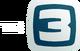 Ранняя версия логотипа ТВ-3 с 2011 по 2012 года