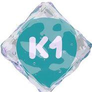 K1 (шестой логотип со льдом)