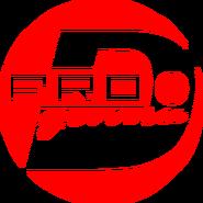 PRO Деньги (первый логотип, моно, красный)