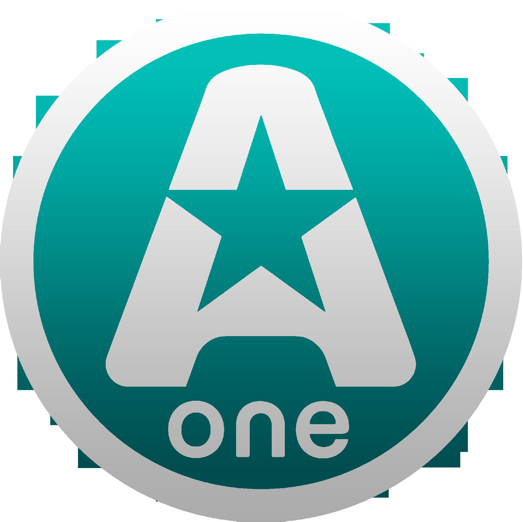 A-One (Украина) (2-ой логотип, бирюзовый)