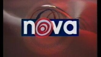 TV-DX Nova TV Testcard, opening and news 12.07.1994