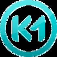 K1 (четвертый логотип - глянцевый)