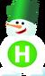 Новий канал (Новорiчний логотип, 2006-2007)