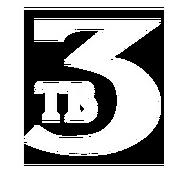 ТВ-3 (1994, самый первый логотип)