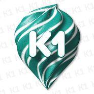 К1 (шестой логотип со сладостью)