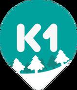 К1 (новогодний логотип 2015)