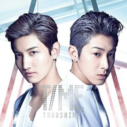 TVXQ - TIME - Cover (CD)