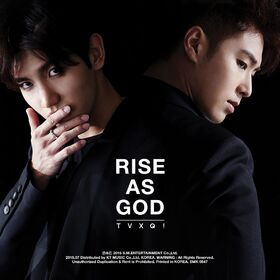 TVXQ - RISE AS GOD - Cover