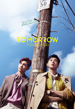 TVXQ - TOMORROW - DVD