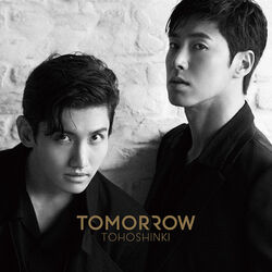 TVXQ - TOMORROW - CD