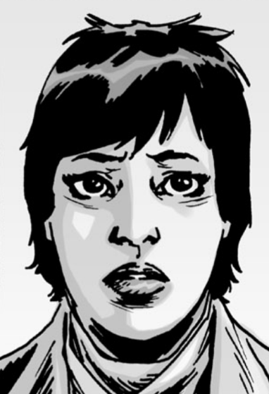 Image result for the walking dead comics maggie