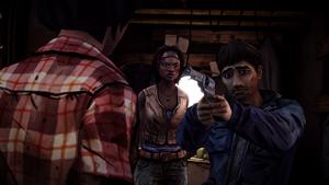 TWD Michonne - Interrogatório tenso