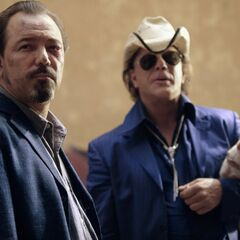 Rubén Blades como Jorge em Once Upon a Time in Mexico
