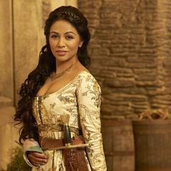 Karen David como Princess Isabella em Galavant.