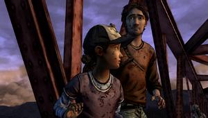 A House Divided - Luke e Clem na ponte