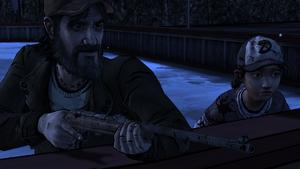A House Divided - Kenny e Clem fora do resort