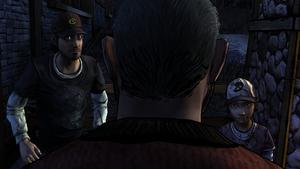 A House Divided - Walter confronta Nick e Clem